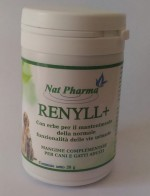 Renyll prevents kidney in dogs and cats
