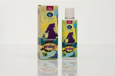 Natural Shampoo for Dogs - Short Hair - ml.200